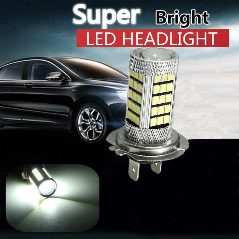 Automobiles Bulb-4014 6000k 92SMD White H7 PX26D High Power Led Bulb Car Fog Running Light Bulbs Car Styling Lights
