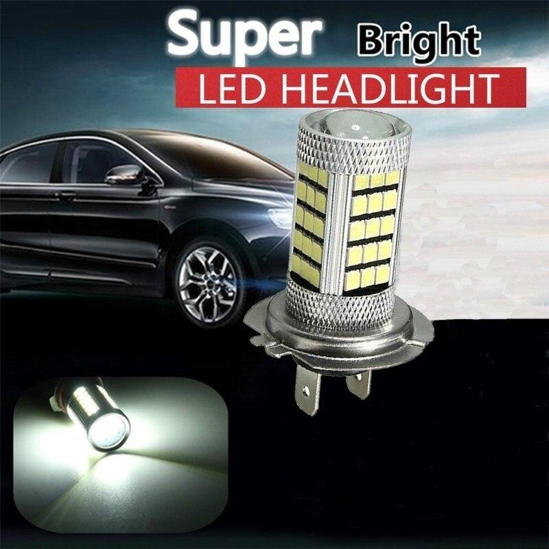 Automobiles Bulb-4014 6000k 92SMD White H7 PX26D High Power Led Bulb Car Fog Running Light Bulbs Car Styling Lights