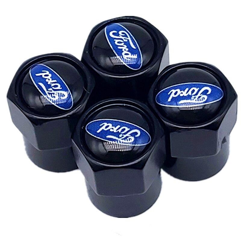 4 шт. колпачки для автомобильного воздушного клапана для автомобиля Ford Fiesta EcoSport ESCORT focus 1 focus 3 focus 2 аксессуары для автомобиля Стайлинг|Колпаки ступицы|   | АлиЭкспресс