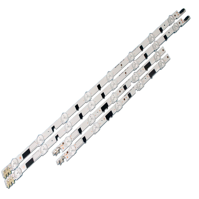 832mm LED Backlight Lamp strip 13leds For SamSung 40 D2GE 400SCA R3 TV UA40F5500 2013SVS40F UE40F6400 D2GE 400SCB R3 LCD