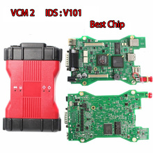 Full Chip VCM II 2in1 Interface for Ford-Mazda VCM2 Diagnostic Programming Tool VCMII OBDII Scanner VCM 2 IDS V101 V94 vxdiag multi 4 in 1 diagnostic tool allscanner for toyota ford mazda