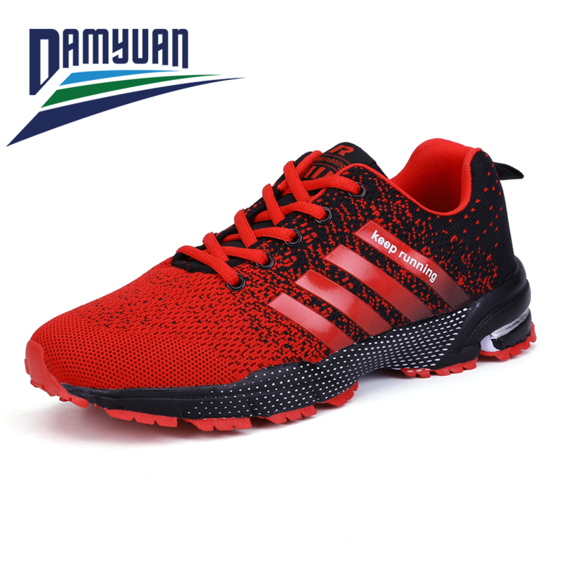 Damyuan Fashion Men's Shoes Portable Breathable Running Shoes 46 Large Size Sneakers Comfortable Walking Jogging Casual Shoes 47