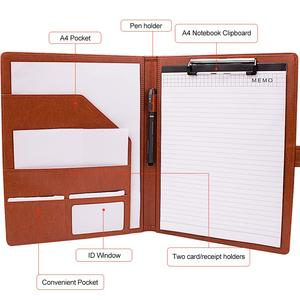 Image 4 - A4 Folder Covers PU Leather Document Folder Briefcase for Storing File Folder Organizer For School and Office Holder