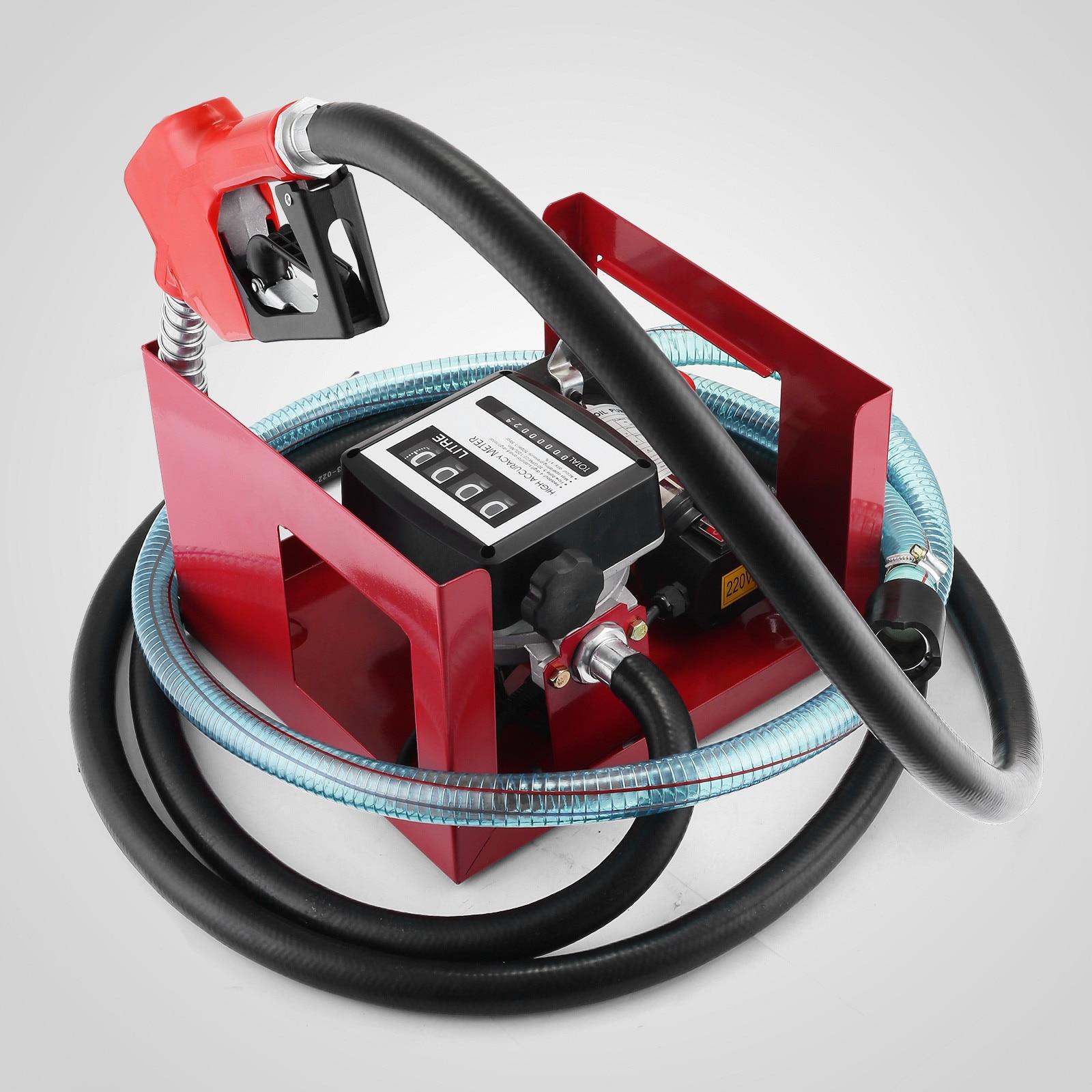 H/D Self Priming Electric Oil Pump Transfer Bio Fuel Oil Diesel 230v 40L/Min New - 4