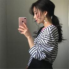 Новое поступление 2020 корейские шикарные минималистичные футболки