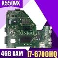X550VX MB._ 4G/I7-6700HQ/AS X550VX материнская плата REV 2 0 для ASUS FX50V K550VX X550VX X550VQ материнская плата Тест ОК обмен!
