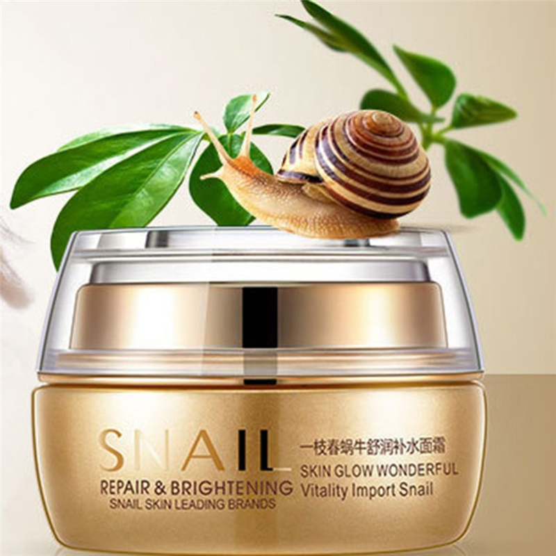 OneSpring Brand Snail Deep Nourishing Repair Facial Cream Anti-aging Anti Wrinkles Cream Beauty Miracle Glow Day & Night Cream