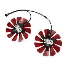 2 pçs/set FDC10U12S9-C fy09010h12lpa rx 570 R9-390 gpu cooler fan como substituição para xfx rx570 rs r9 285 390x placas de vídeo refrigeração