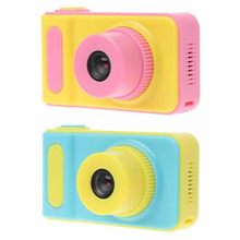 цена на 2 Inch HD Screen Children Mini Camera Kids Educational Toy Camera for Birthday Gift Digital Camera 1080P Projection Video Camera