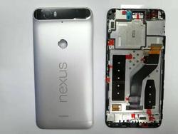 Yqwsyxl klasa A + tylna pokrywa + dotykowy Digitizer + wyświetlacz Lcd + ramka do Huawei Google Nexus 6P H1511 H1512 wymiana