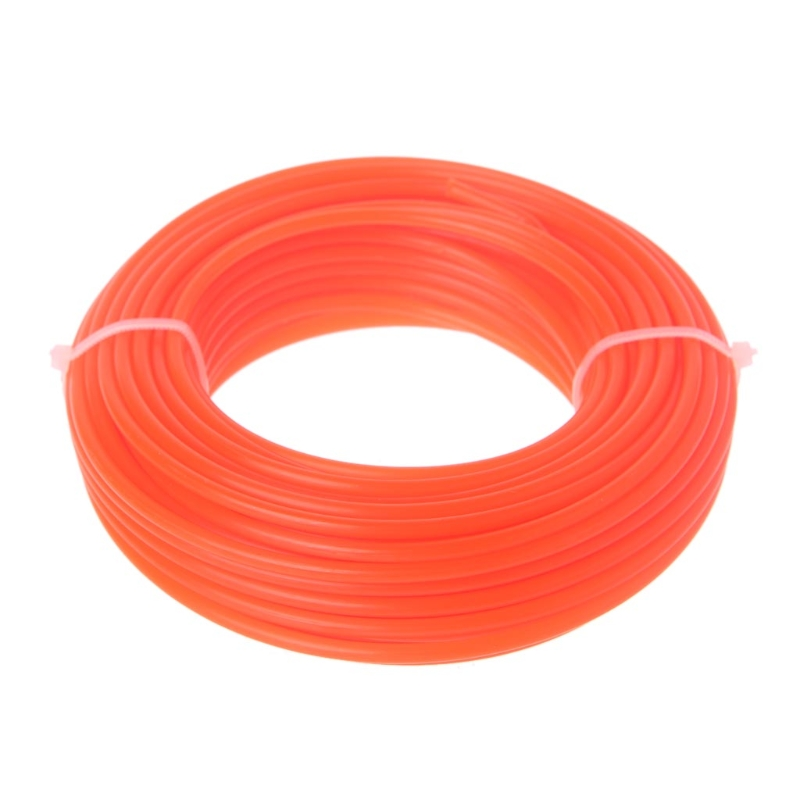 2/2.4/3mm X 15M Nylon Trimmer Line Brush Cutter Strimmer Rope Lawn Mower Wire 19QB