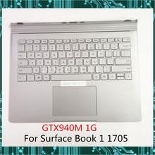 Для Surface Book 1 1st 1705 base с американской клавиатурой тачпад аккумулятор GTX940M 1G GPU видеокарта хорошая работа