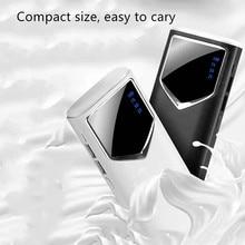 10000mah แบตเตอรี่ PoverBank LED Light Powerbank ชาร์จโทรศัพท์มือถือแบบพกพาสำหรับ