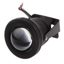 Universal Bullet 10W Car Fog Light COB LED DRL Daytime Running Lamp Black