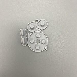 Image 5 - Kolor wysokiej jakości akcesoria do gier podkładki gumowe podkładki silikonowe do Gameboy Pocket GBP