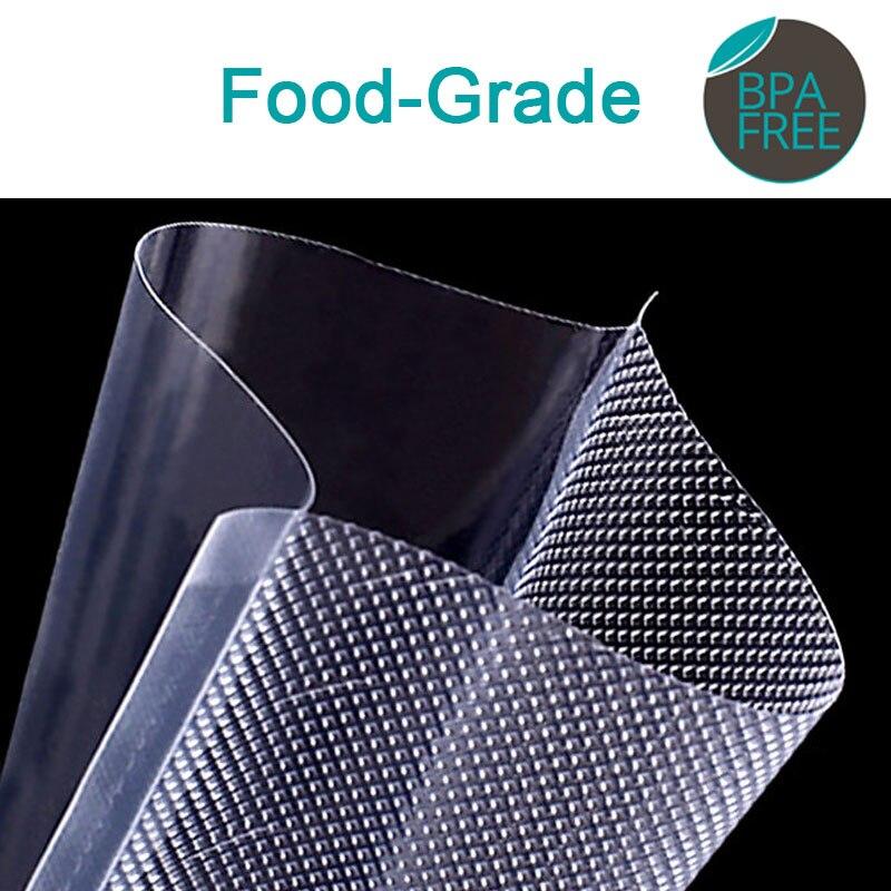 Image 2 - 100pcs Kitchen Food Vacuum Sealer Bag Sous Vide Food Saver Storage Vacuum Packaging Bags Kitchen Accessories BPA Free
