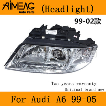 Made for  99-05 Audi A6C5  02 / 03 Audi A6C5 headlights  assembly with motor Xenon