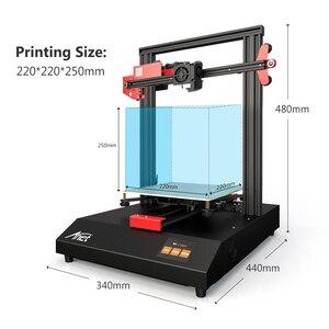 Image 2 - Anet ET4 3D Stampante Struttura del Telaio In Metallo Auto Livellamento Riprendere Mancanza di Alimentazione Stampa Filamento Run Out Detection 220*220*250 millimetri
