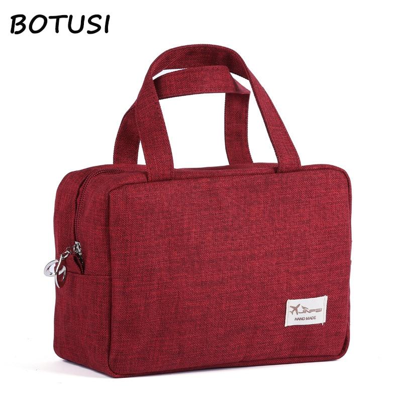 BOTUSI Travel Bags Cosmetic Bag Fashion Large Capacity Waterproof Packing Cubes Hand Luggage Packing Cubes Organizer Makeup Bag
