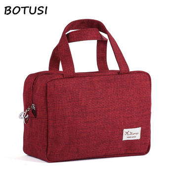 BOTUSI Travel Bags Cosmetic Bag Fashion Large Capacity Waterproof Packing Cubes Hand Luggage Packing Cubes Organizer Makeup Bag наушники затычки denon ah c621r белый