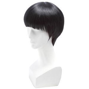 Image 4 - L email peruk Yepyeni Mob Psiko 100 Shigeo Kageyama Cosplay Peruk Kısa Siyah Isıya Dayanıklı Sentetik Saç Peruk cosplay Peruk