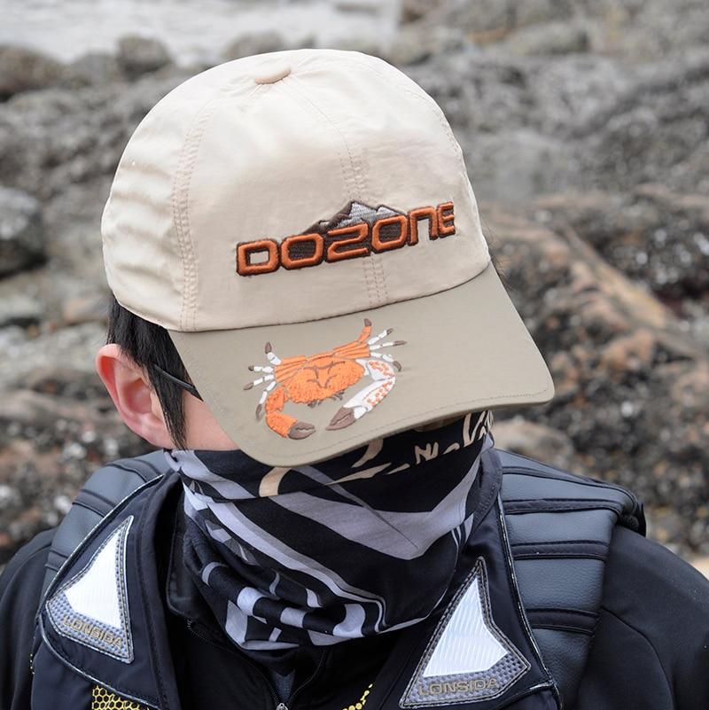DOZONE – casquette de pêche de haute qualité, chapeau de pêche à plateforme professionnelle, avec Ventilation Anti-UV, nouvelle collection