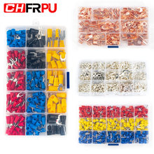 Assorted Insulated Cable Connector Electrical Wire U/O/Tube-type crimping butting terminal auto parts kit Combination box