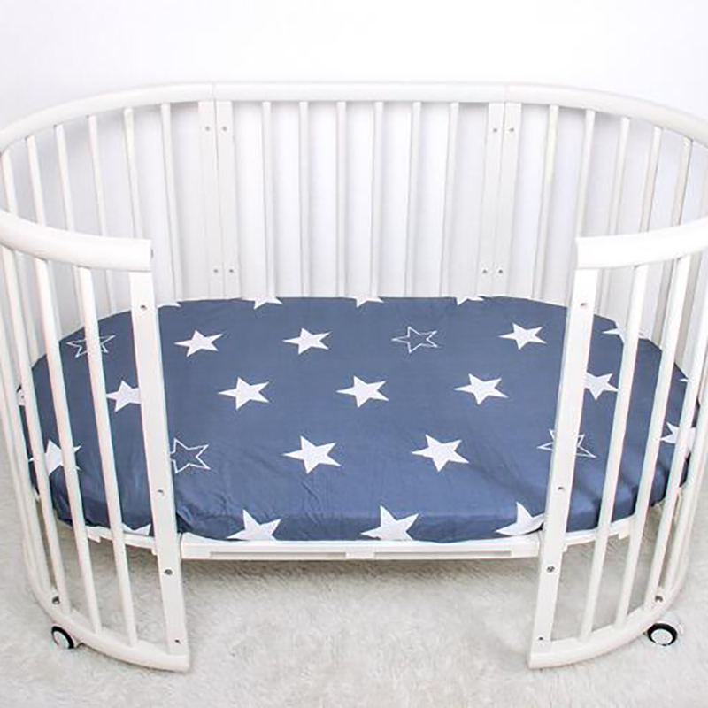 Baby Crib Bedding Mattress Cover Cot Bed Sheet Cotton 70*130cm Printing Cartoon Infant Bedclothes  Toddler Stuff BMT050