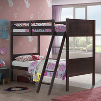 Wooden Bunk Beds for kids 2 Individual Beds home furniture HW61357+