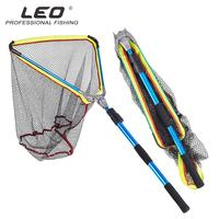 HiMISS Fish Landing Net Telescopic Aluminum Fishing Landing Net Fish Net with Extending Telescoping Pole Handle 200cm / 79 Inch