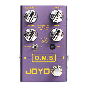 Joyo LOOPER Drum Mode Guitar Pedal Effects Pedal Auto-align Count-In Loop Guitar Effects Tap Tempo Function Guitar Accessories