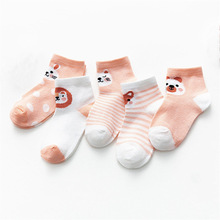 Mesh Socks Newborn Infant Baby-Girl Summer Thin Cotton for 5pairs/Lot