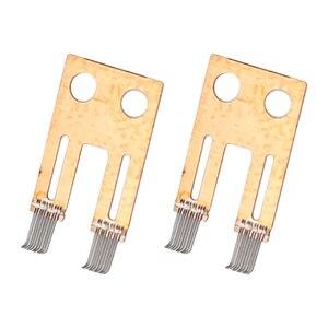 Image 5 - 2PCS Steering Column Switch Angle Sensor Contact Brush Repair Kit Fit For BMW E65 E66 E60 730 740 530 7 Series Automobiles New