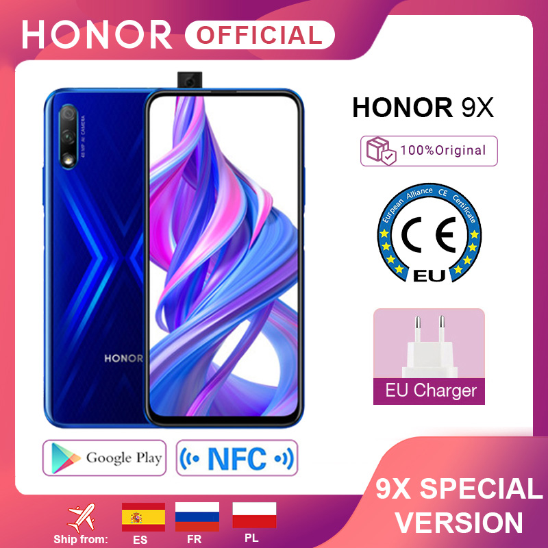 Special Version Honor 9X Smartphone 4G128G  48MPin Accra, Ghana 1