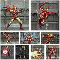 "Marvel Iron Man 6"" Action Figure Ironman Nano MK50 MK85 MK47 Mark 50 85 46 47 Tony Stark Legends KO's SHF Avengers Endgame Toys"