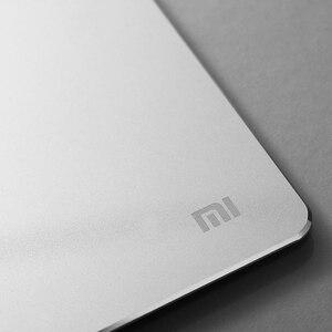 Image 4 - Xiaomi alfombrilla de ratón inteligente mijia, 100% Original, de Metal, delgada de aluminio, mate esmerilado para oficina