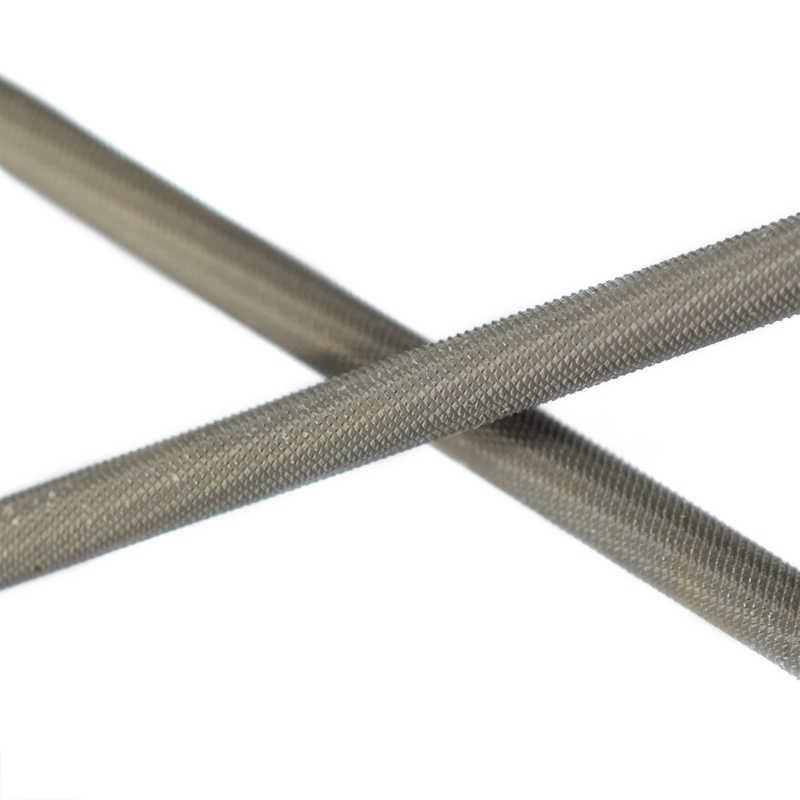 3Pcs 4.0/4.8/5.5mm Shank รอบเหล็กคาร์บอน Sharpening Chainsaw SAW CHAIN ไฟล์ Sharpener สำหรับไม้ Chainsaw