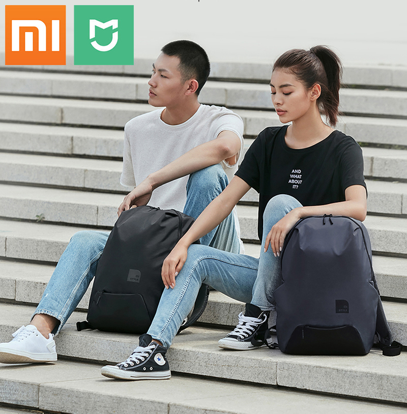 Original Xiaomi Leisure Sports Backpack Men 23L Big Capacity Waterproof Mi 15.6 inch Laptop Bagpack Cool School Shoulder Bag image