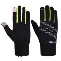 Outdoor Fleece Laufsport Handschuhe Touch Screen Handschuhe Für Winter Warm Radfahren Reiten Laufen Handschuh-in Fahrradhandschuhe aus Sport und Unterhaltung bei