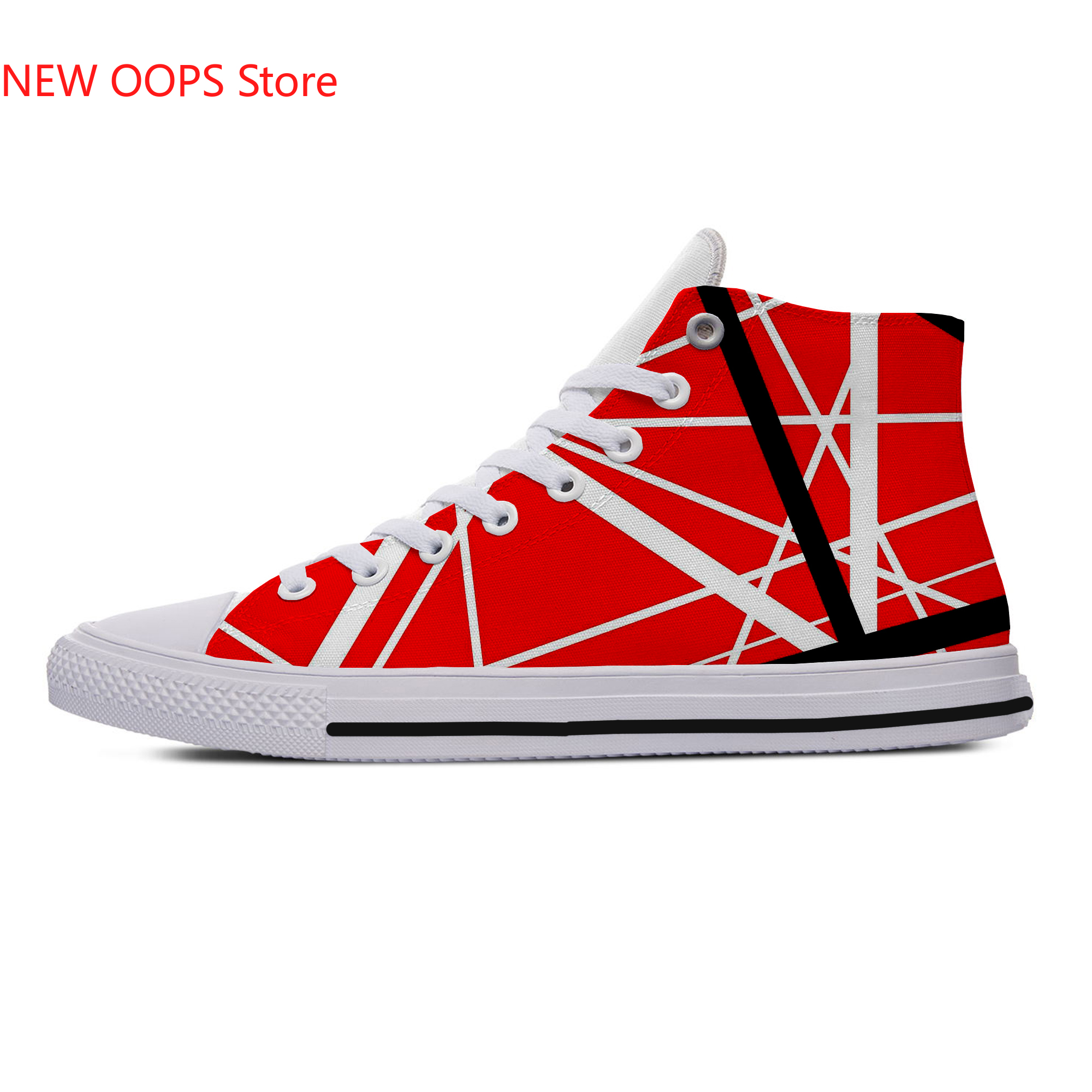 EVH High-Top Canvas Shoes