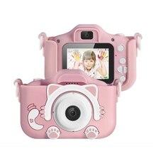 Kids Camera, 1080P Digital Video Camera Rechargeable Camcorder Shockproof Kids T