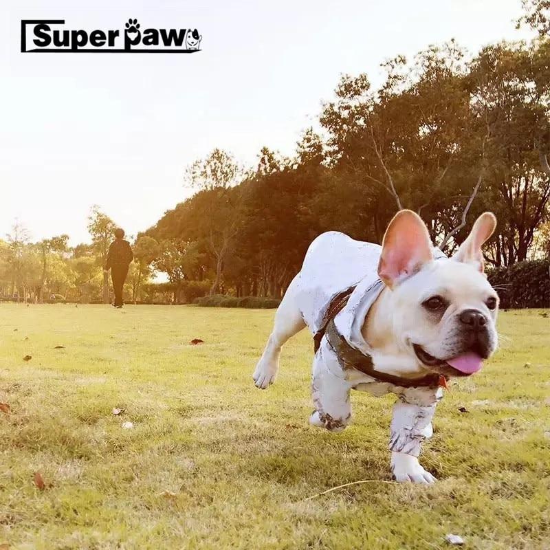 Fashion font b Pet b font Dog Outdoor Jacket Raincoat Waterproof French Bulldog For Small Dogs