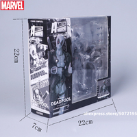 Hasbro Marvel Grey Deadpool Multiple joints can rotate Special version of Deadpool Marvel Action Figure Avengers