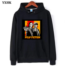 2019 Pulp Fiction Cotton Wool Hoodies For Men Virgin Mary Mia Wallace Mens Hoodie White Streetwear Lil Peep