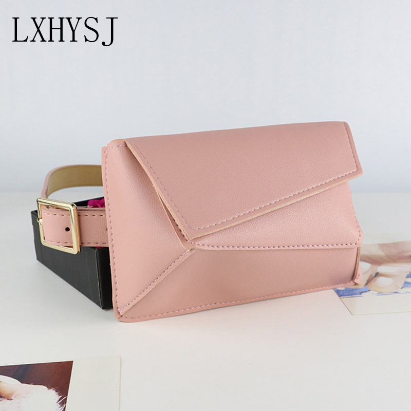 Women Waist Belt Bag 2019 New Fanny Pack Brand Designer Waist Bag Hip Bags High Quality Fashion Female Waist Pack Bum Pouch