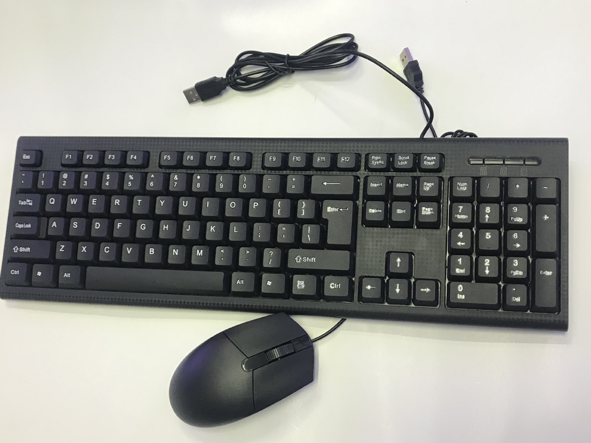 Manufacturers Direct Selling Office Household Keyboard And Mouse Kit Cable USB Computer Keyboard Mouse Set CMK858