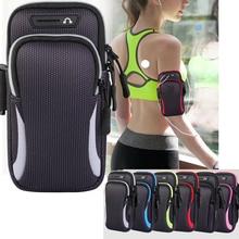 Универсальный спортивный чехол на руку для телефона, для бега, держатель для телефона, спортивная сумка для мобильного телефона, для iPhone 11, с...