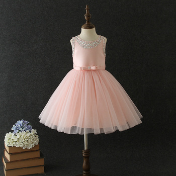 9081 Glitter Diamond Embroidery Wings Princess Baby Girl Dress Summer Wedding Party Kids Dress For Girls Wholesale baby clothes