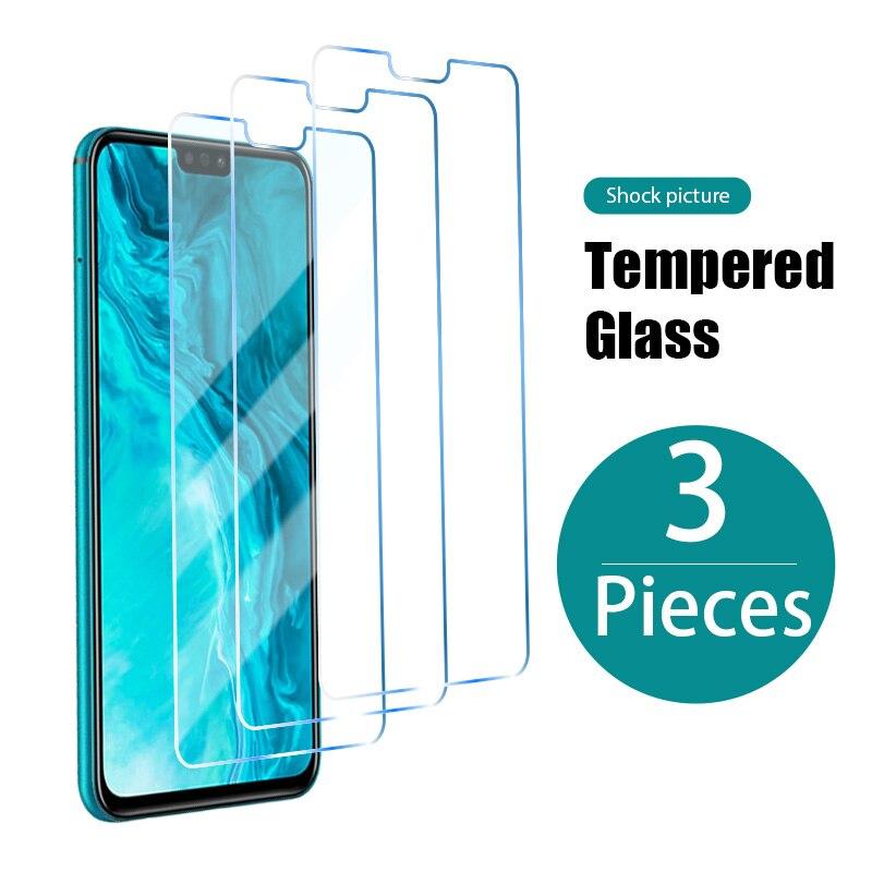 Закаленное стекло для Honor 8X 9X 10X Lite 8A 9A 8C 9C 8S 9S, защитная пленка для экрана Huawei Honor 20 Pro 9 10 Lite 10i 20i 30 30i, 3 шт.