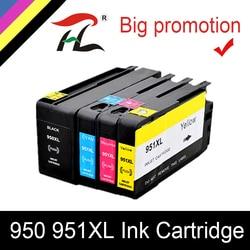 HTL dla HP 950XL dla 951XL dla HP950 pojemnik z tuszem 950 951 HP Officejet Pro 8600 8610 8615 8620 8630 8625 8660 8680 drukarki